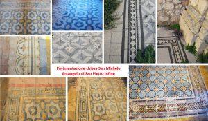 Fig. 1. Particolari della pavimentazione della chiesa di San Michele Arcangelo di San Pietro Infine.